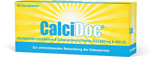 CalciDoc<sup>®</sup> 600 mg / 400 I.E.