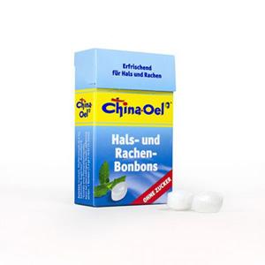 China-Oel<sup>®</sup>Hals- und Hustenbonbons o. Zucker